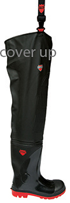 STREAM II SUPER SAFETY PVC THIGH WADER